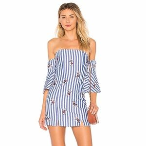 ✨Tularosa X Revolve NWT Marty Dress Torrey Stripe